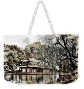 Temple On The Lake Weekender Tote Bag