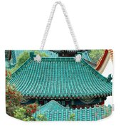 Temple Roofs Weekender Tote Bag