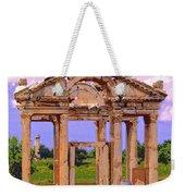 Temple Ruins At Ephesus Weekender Tote Bag