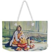 Temple-side Vendor Weekender Tote Bag