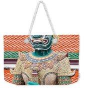 Temple Warrior Weekender Tote Bag