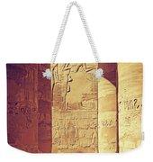 Temples Of Karnak  Weekender Tote Bag