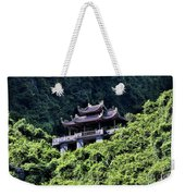 Temples Of Tam Coc Vietnam  Weekender Tote Bag