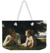 Temptation By William-adolphe Bouguereau Weekender Tote Bag