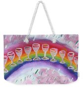 Ten Of Cups Illustrated Weekender Tote Bag