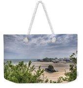 Tenby Pembrokeshire Low Tide Weekender Tote Bag