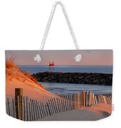 Tender Beach Light Weekender Tote Bag