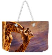 Tenderness Painted Weekender Tote Bag