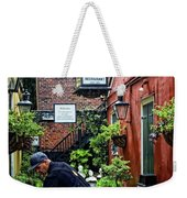 Tending The Court Weekender Tote Bag