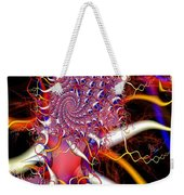 Tendrils Reach Out Weekender Tote Bag by Ron Bissett