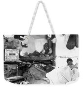 Tenement Life, Nyc, C1889 Weekender Tote Bag