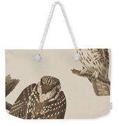 Tengmalm's Owl Weekender Tote Bag
