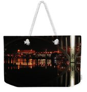 Tennessee River In Lights Weekender Tote Bag