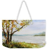 Tennessee River In The Fall Weekender Tote Bag