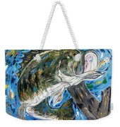 Tennessee River Largemouth Bass Weekender Tote Bag