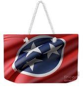 Tennessee State Flag Weekender Tote Bag