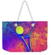 Tennis Art Version 1 Weekender Tote Bag