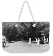 Tennis Champions Sutton And Hotchkiss Weekender Tote Bag