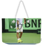 Tennis Player Weekender Tote Bag