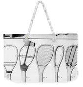 Tennis Rackets Weekender Tote Bag