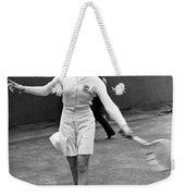 Tennis Star Katherine Stammers Weekender Tote Bag