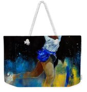 Tenniswoman 57 Weekender Tote Bag