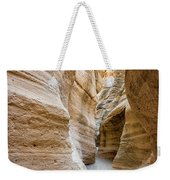 Tent Rocks Slot Canyon 2 - Tent Rocks National Monument New Mexico Weekender Tote Bag