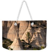 Tent Rocks Wilderness Weekender Tote Bag