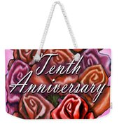 Tenth Anniversary Weekender Tote Bag