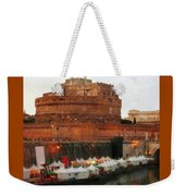 Tents Along The Tiber Weekender Tote Bag