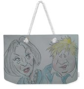 Teresa And Boris Weekender Tote Bag