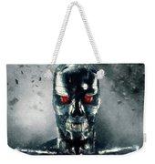 Terminator Oil Pastel Sketch Weekender Tote Bag