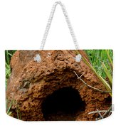 Termite Mound In Brazil Weekender Tote Bag