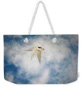 Tern In Flight With Fish Weekender Tote Bag
