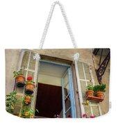 Terra Cotta Pots Outside Window In Old Town Nice, France Weekender Tote Bag