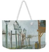 Terrace And Observation Deck At The Moulin De Blute Fin Weekender Tote Bag