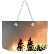 Terrace Mountain Fire 2  Weekender Tote Bag