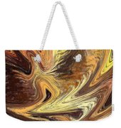 Terrestrial Fire Abstract Weekender Tote Bag