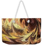 Terrestrial Flames Abstract  Weekender Tote Bag