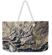 Terrible Erosion In The African Weekender Tote Bag