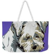 Terrier Mix Weekender Tote Bag