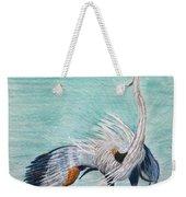 Terri's Heron Weekender Tote Bag