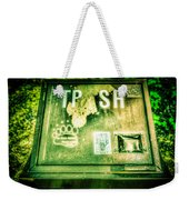 Terror At The Trash Can Weekender Tote Bag