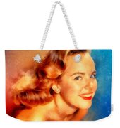 Terry Moore, Vintage Hollywood Actress Weekender Tote Bag