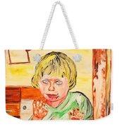 Terry Weekender Tote Bag