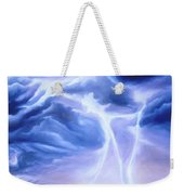 Tesla Weekender Tote Bag by James Christopher Hill