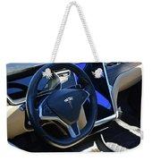 Tesla S85d Cockpit Weekender Tote Bag