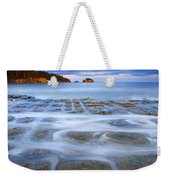Tesselated Sunset Weekender Tote Bag