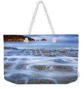 Tesselated Sunset Weekender Tote Bag