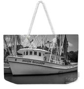 Moon Shadow Working Boat Weekender Tote Bag